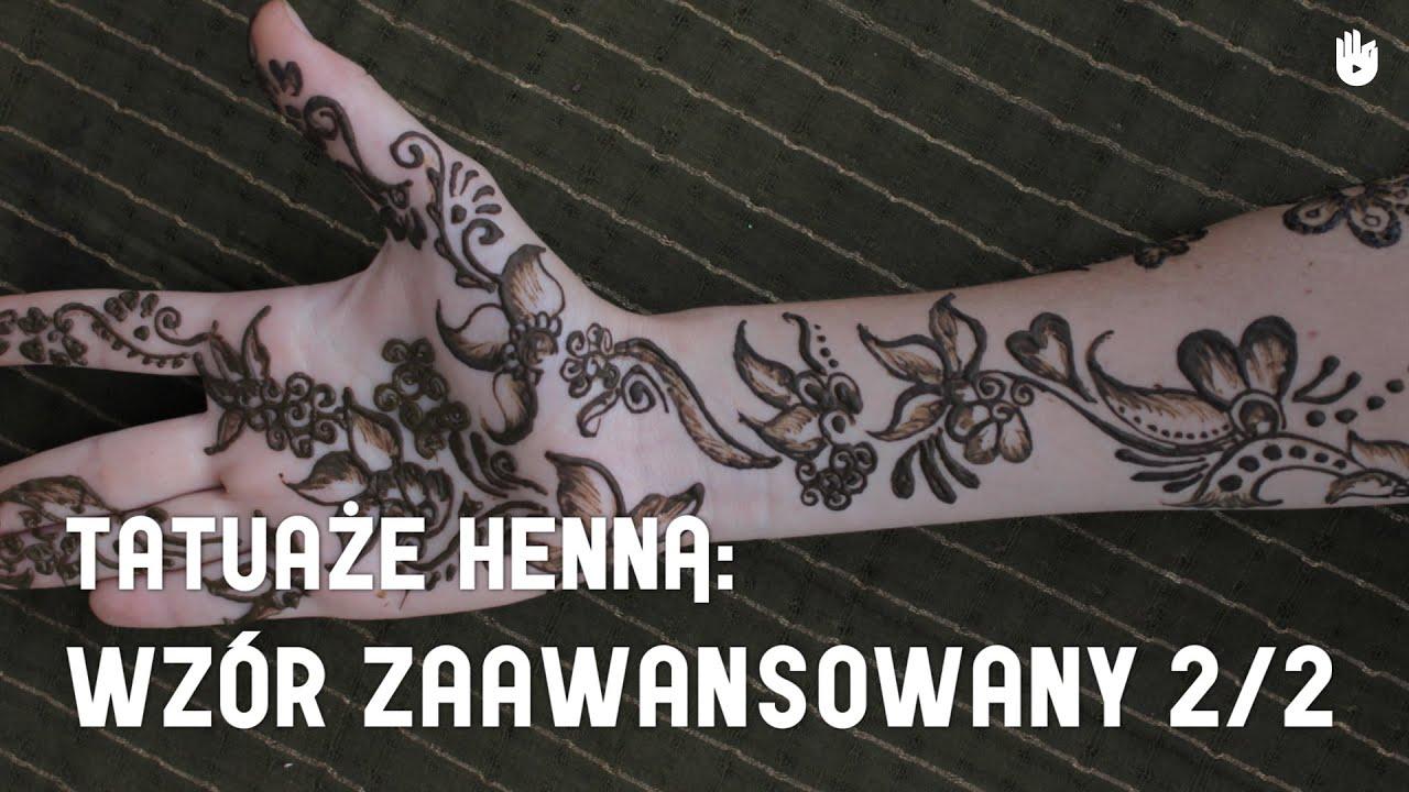 Jak wykonać zaawansowany wzór tatuażu z henny 2/2