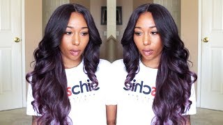 The Perfect Purple Wig| Ft. Samsbeauty