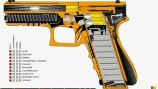 So Funktioniert eine echte Handwaffe !!!!  3D Animation