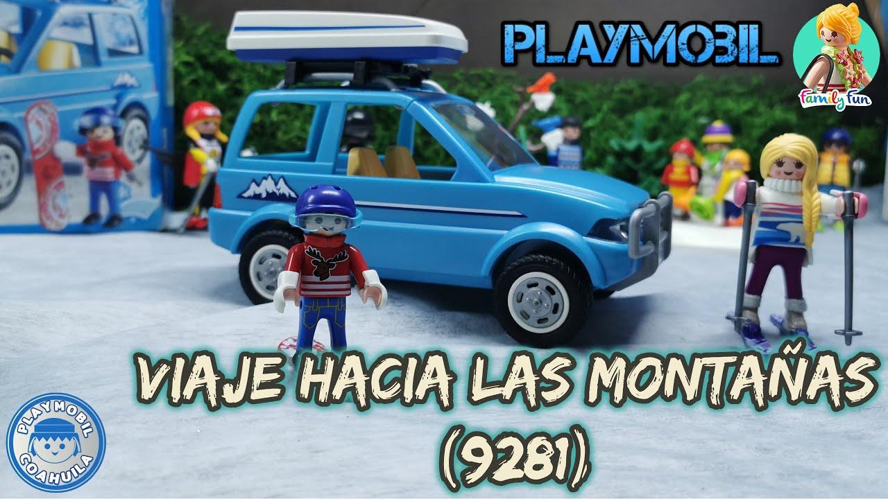 Playmobil coche viaje a las montañas 9281