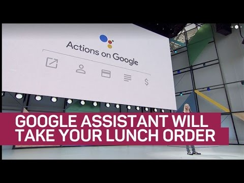 Google Assistant can take your lunch order