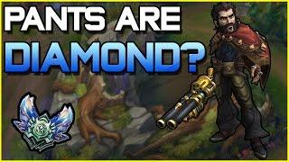 ✔ PANTS ARE DIAMOND? - Best Stream Highlights #10 | League of Legends