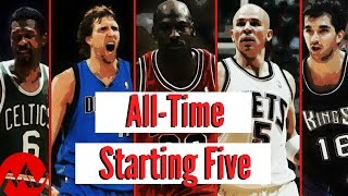 All-Time NBA Starting Five (Colab with Dunk Buster!)