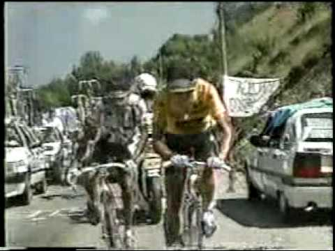 1990 Tour De France Stage 16 to Luz Ardiden - Greg Lemond - Indurain - Chiapucchi