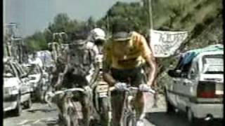 1990 Tour De France Stage 16 to Luz Ardiden - Greg Lemond - Indurain - Chiapucchi