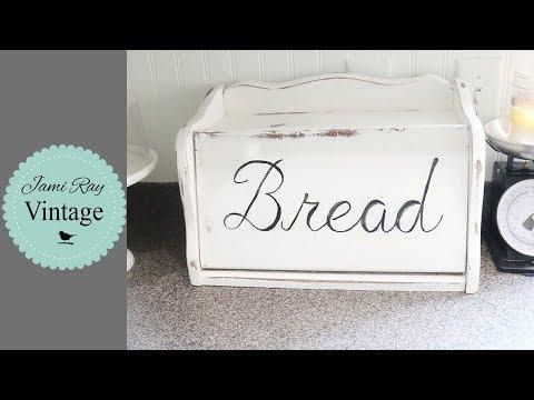 Hand Lettering A Bread Box