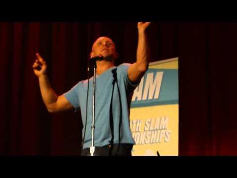 Buddy Wakefield performs Hurling Crowbirds at Mockingbars -- Slam Poetry Granville Island