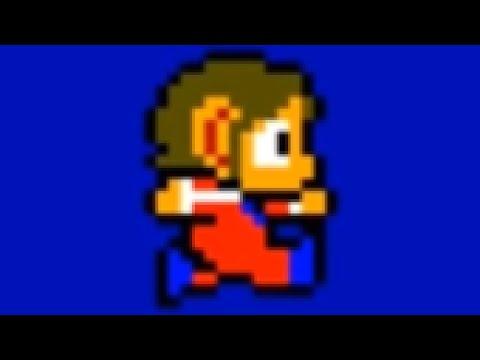 Evolution Of Alex Kidd 1986-2012