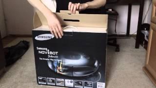 SAMSUNG Navibot SR8895 - unpacking video