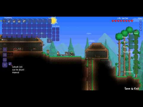 Terraria Terraria How To Make A Bed