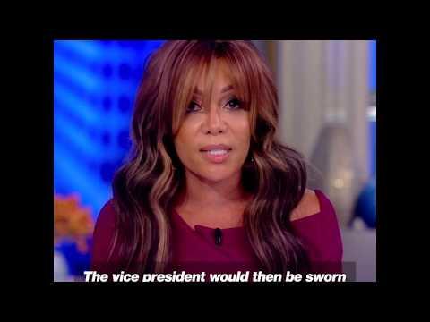 Sunny Hostin Explains The Impeachment Process | The View