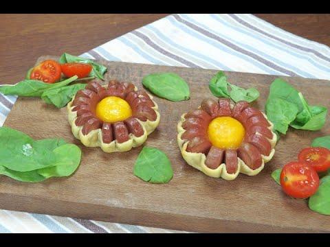 Fiorellini di würstel l\u0027idea originale e gustosa!