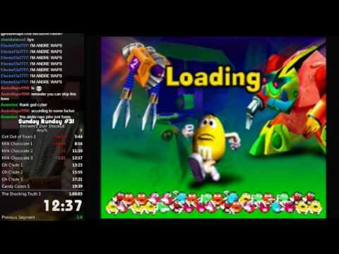 M&M's Shell Shocked Any% Speed Run 1:04:46