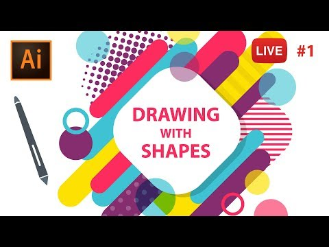 Drawing with Adobe Illustrator CC - LIVE Session #1