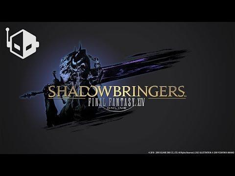 Final Fantasy XIV: Shadowbringers - Titania EX Fight Gameplay [PC]
