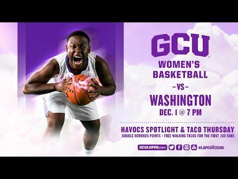 Women's Basketball vs Washington Dec 1st, 2016