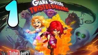 Giana Sisters Twisted Dreams part 1 Gameplay Walkthrough No Commentary