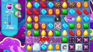 Candy Crush Soda Saga Level 607