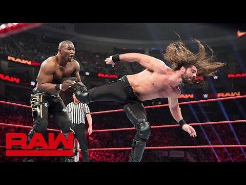 Seth Rollins vs. Shelton Benjamin: Raw, March 11, 2019