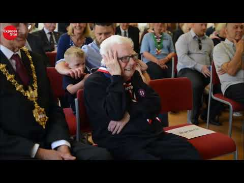 96-year-old Scout leader awarded MBE