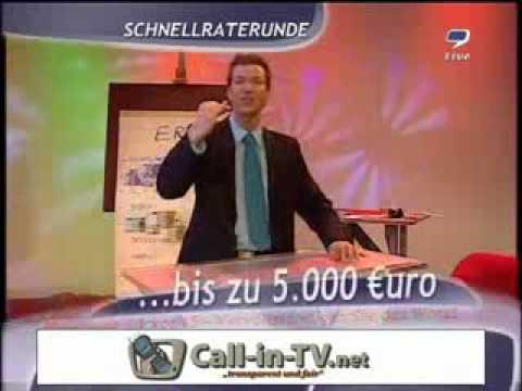 9LIVE - MAX SCHRADIN - ERD-SHOW - CALL-IN-TV NET