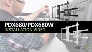 PDX680 TV Mount Installation Guide | Kanto Mounts