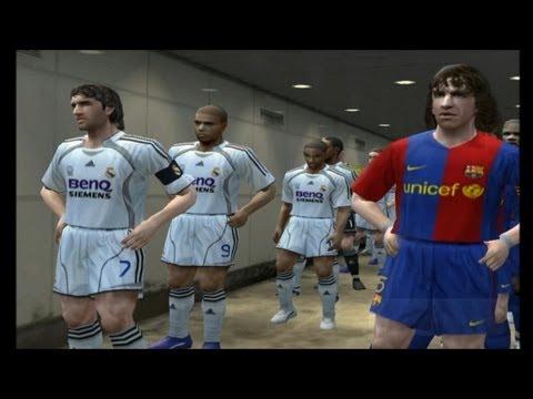 PES 6 - Barcelona Vs Real Madrid