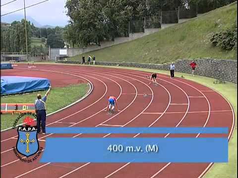 Atletismo velocidad 400 metros
