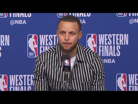 Stephen Curry Postgame Interview - Game 5 | Warriors vs Rockets | 2018 NBA West Finals