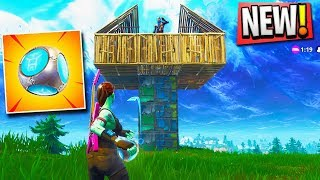 NEW PORT-A-FORT Grenade ALL LOCATIONS GAMEPLAY in Fortnite (New Fort Grenade Fortnite Battle Royale)