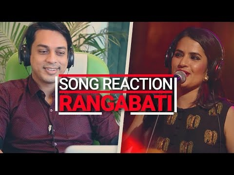 Song Reaction: Rangabati Coke Studio | Sona Mohapatra, Ram Sampath | Coke Studio MTV Season 4