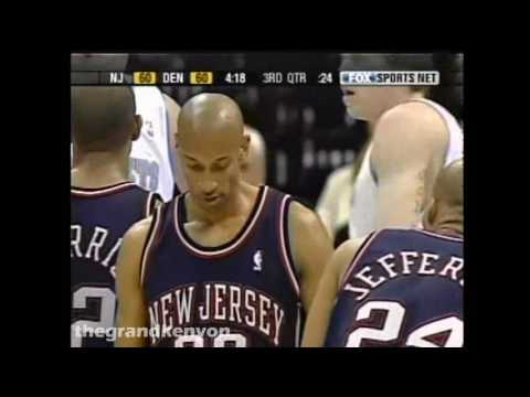 Kerry Kittles 34 points, 5 rebounds, 4 assists & 4 steals vs. Denver Nuggets (March 2, 2004)