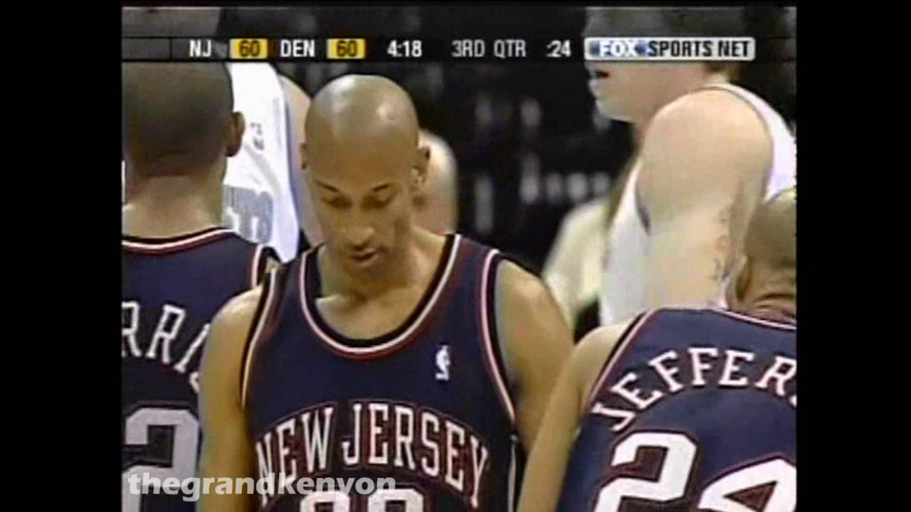 Kerry Kittles 34 points 5 rebounds 4 assists & 4 steals vs