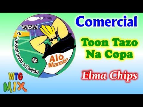 Comercial Promoção Toon Tazo na Copa da Elma Chips - 2002 Cartoon Network #Nostalgia