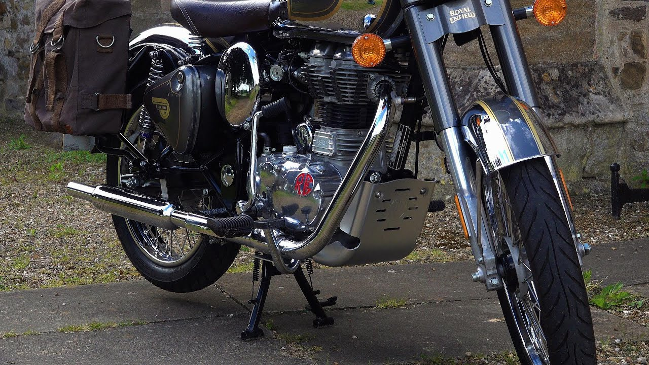 Fitting the Royal Enfield Classic 350/500 sump Guard! Protect your bike! Classic adventure TOURER?