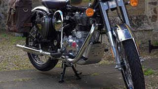 Фото Fitting The Royal Enfield Classic 350/500 Sump Guard! Protect Your Bike! Classic Adventure TOURER?
