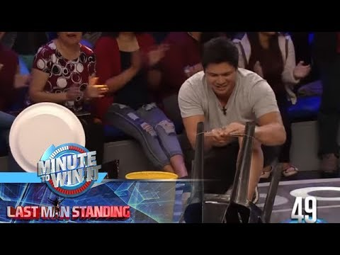 Si-sling Plate   Minute To Win It - Last Man Standing