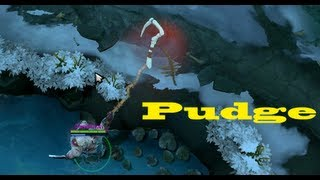 Na'Vi Dendi Pudge gameplay Compilation Dota 2