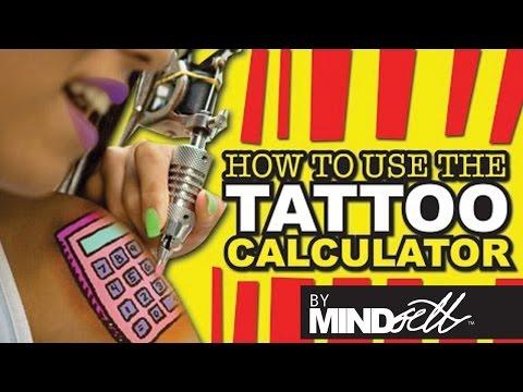 Tattoo Calculator - YouTube