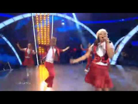 Junior Eurovision 2010 Latvia - Sarlote & Sea Stones - Viva La Dance