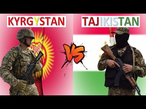 Kyrgyzstan vs Tajikistan Military Power Comparison 2021