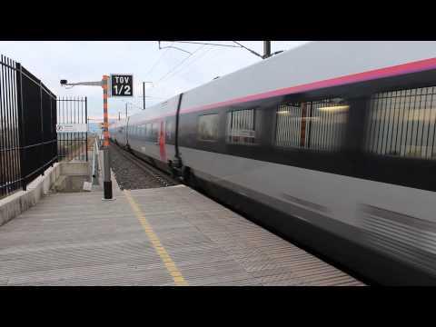 TGV departing from Avignon TGV station