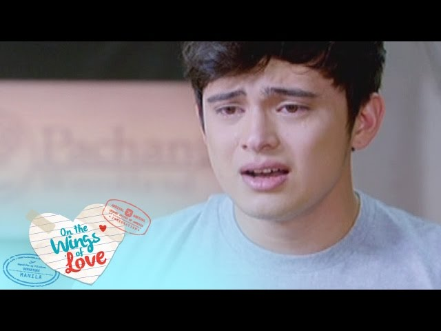 On The Wings Of Love: Clark cries