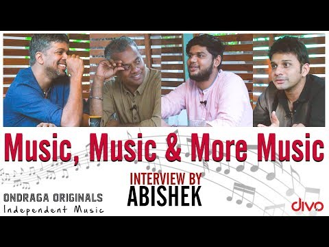 Music, Music & More Music!  Gautam Vasudev Menon  Karthik  Madhan Karky  Ondraga Originals