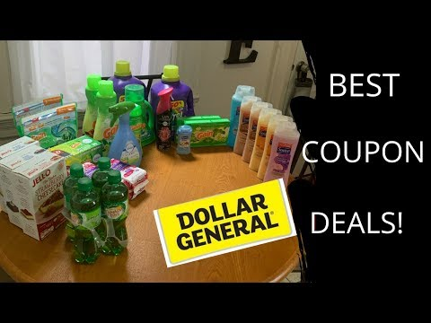 DOLLAR GENERAL // BEST COUPON DEALS TO SAVE YOU MONEY // STAY ON BUDGET!