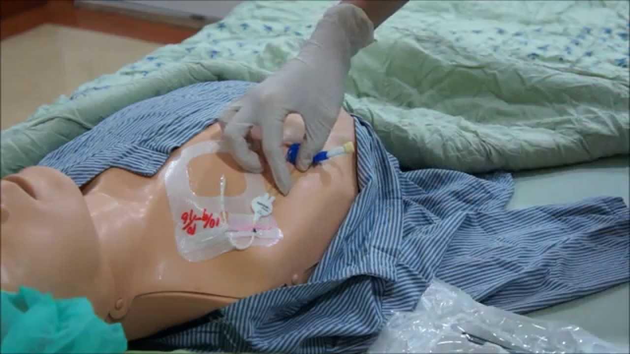 高雄市立大同醫院中心導管日常照護流程教學影片 - YouTube