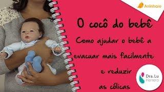 O cocô do bebê. Como ajudar o bebê a evacuar mais facilmente e reduzir as cólicas. thumbnail
