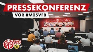 Pressekonferenz vor Stuttgart | #M05VFB | 05er.tv
