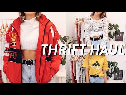 HUGE THRIFT HAUL // TRY ON
