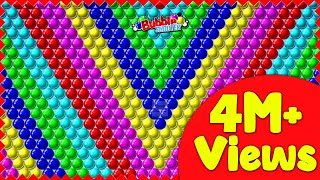 Bubble Shooter Gameplay  - Level 41 to 45   Arcade Games     @Game Point PK screenshot 5